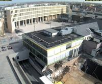 Kamera mit Blick auf ULB (auf dem Verwaltungsgebäude)