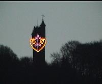 Spiegelslustturm - Lichtkunstprojekt