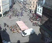 Marktplatz oder Schloss